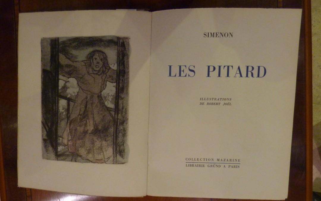 Simenon – «Les Pitard» – édition 1945