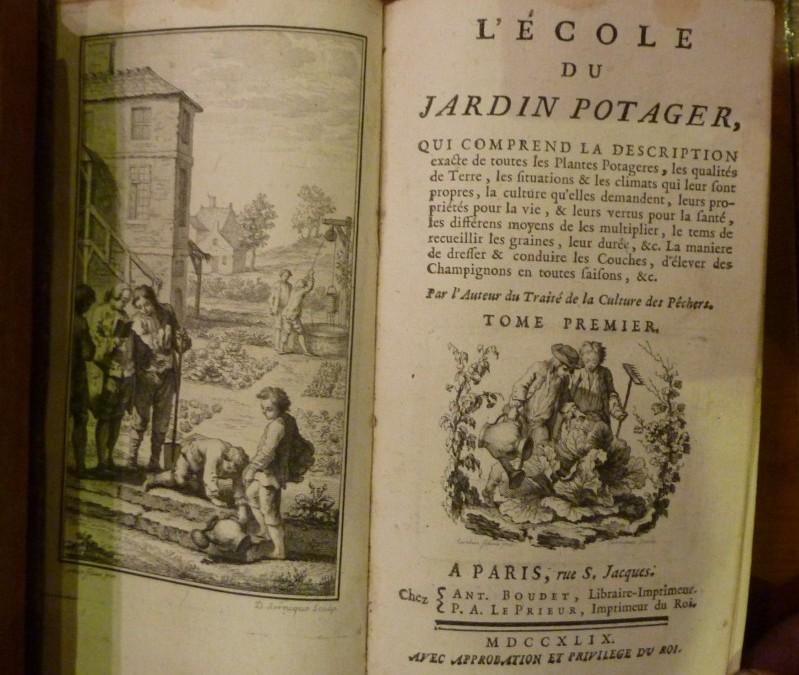 De Combles – «L'Ecole du Jardin Potager» – édition 1749