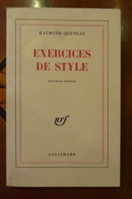 Queneau Raymond – «Exercices de style»