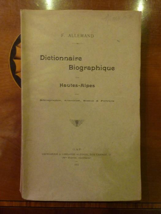 dictionnaire biographique